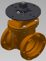 Clow Indicator Post Valves