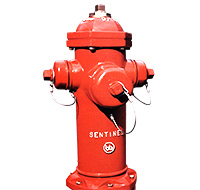 Bouches d'incendie Sentinel